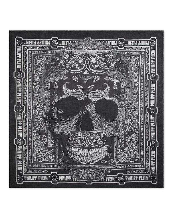 Square Scarf Skull