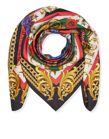 Foulard Black baroque