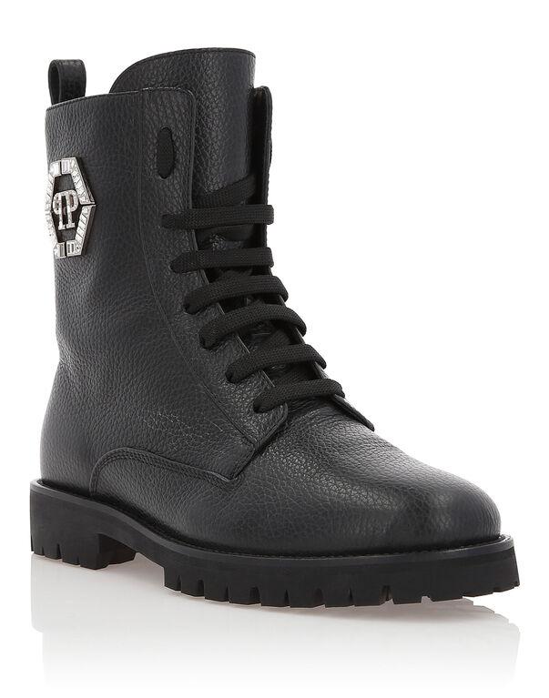 "Boots Low Flat ""Moonlight"""