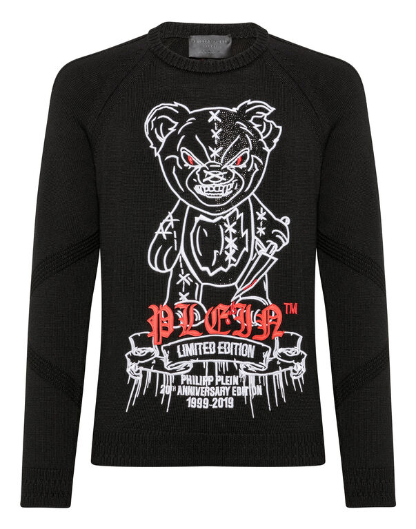 Pullover Round Neck LS Teddy Bear