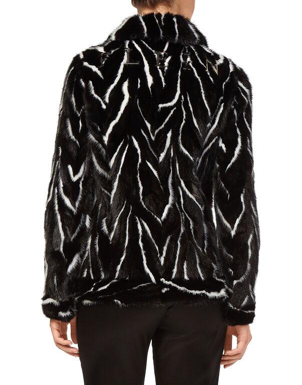 """Fur Jacket """"Black Soul"""""""