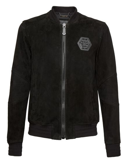 Leather Bomber Falling in you