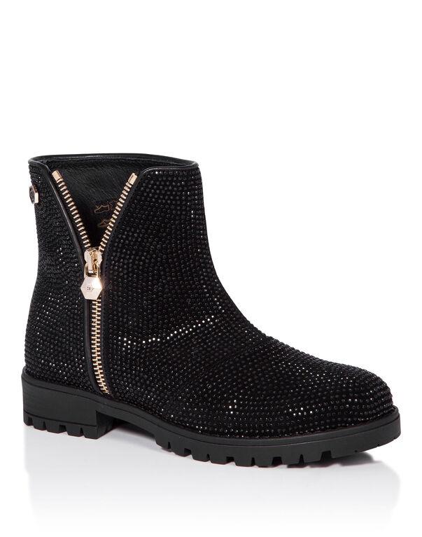 """Boots Low Flat """"Jasmin"""""""
