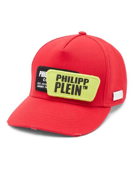 Baseball Cap Rubber Patches Philipp Plein TM