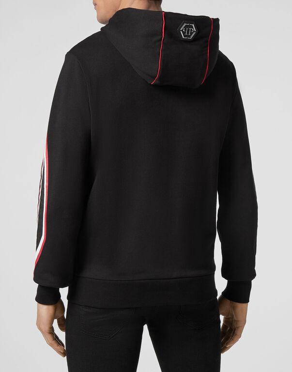 Hoodie Sweatjacket Space Plein