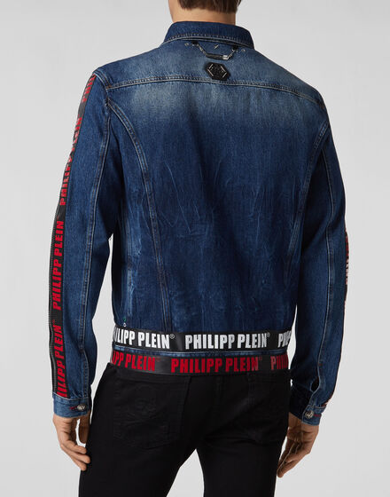 3a2479e0e4 Denim Jacket Philipp Plein TM Denim Jacket Philipp Plein TM ...