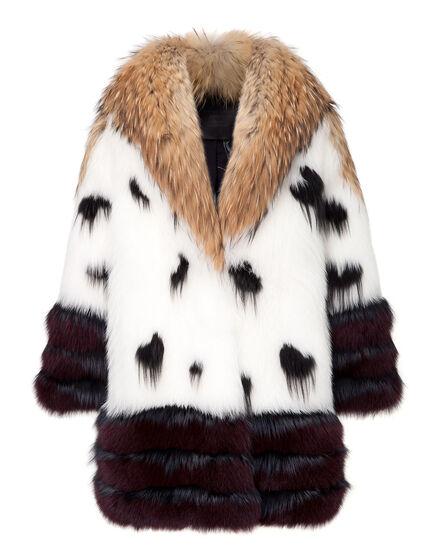 fur coat golden time
