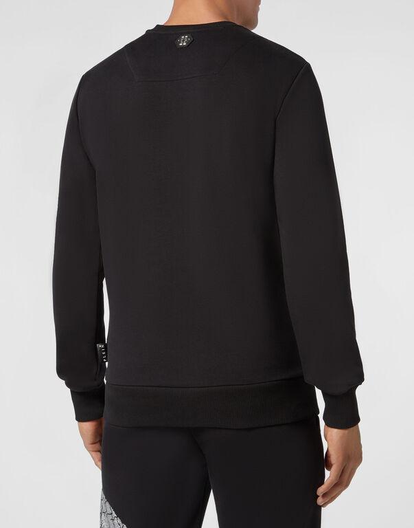 Sweatshirt LS Skull strass