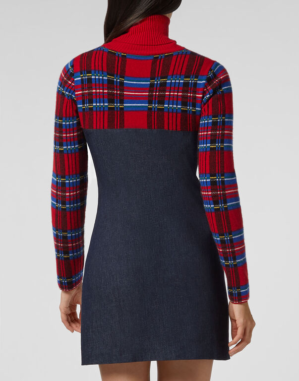 Short Dress Tartan