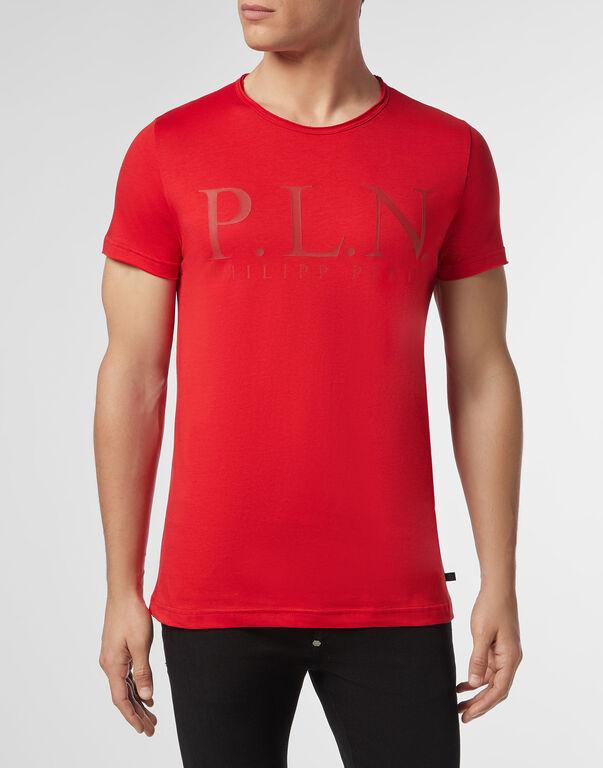 T-shirt Platinum Cut Round Neck P.L.N.
