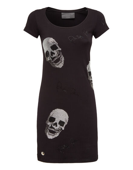 Short Dress Full of Skulls