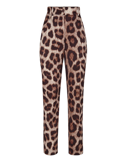 Cady Long Trousers Leopard