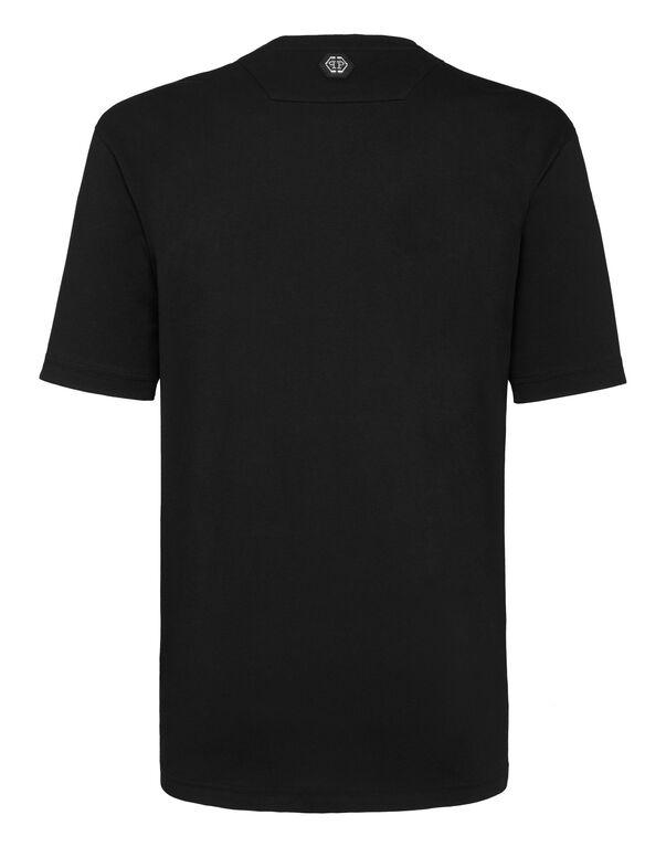 T-shirt Gold Cut Round Neck Scarface