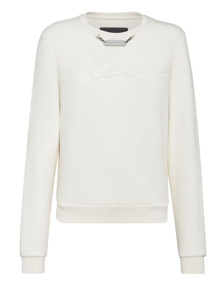 Leisurewear Sweatshirt LS Embroidery Signature
