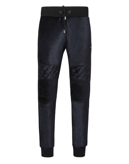 Velvet Jogging Trousers Iconic Plein