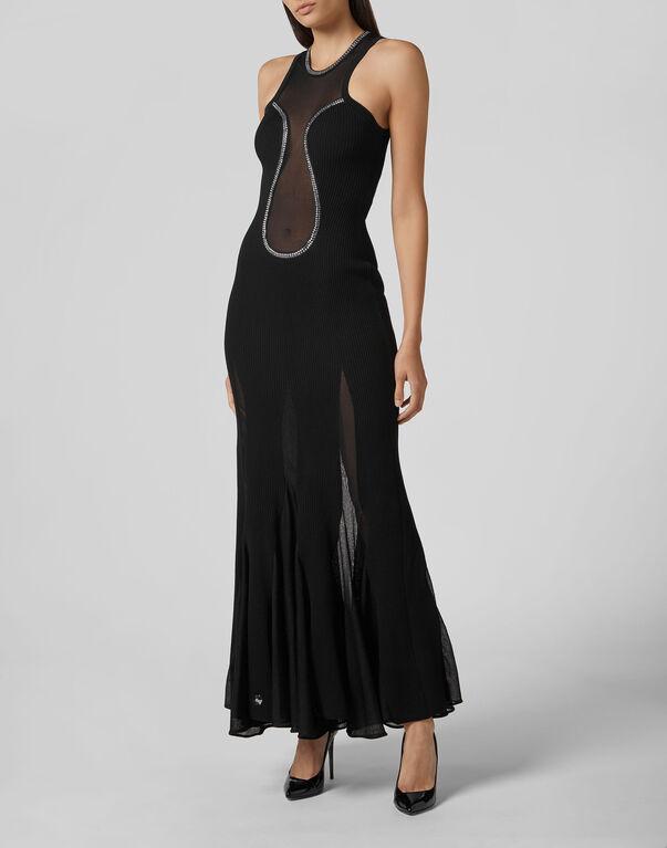 Long Dress Crystal