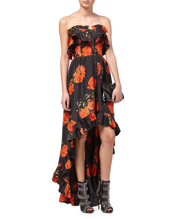 """Long Dress """"Full Of Flower"""""""