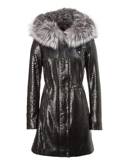 leather parka the queen