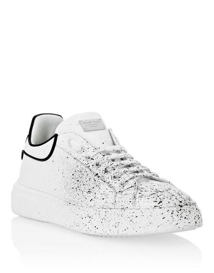 Leather white Runner Big Bang
