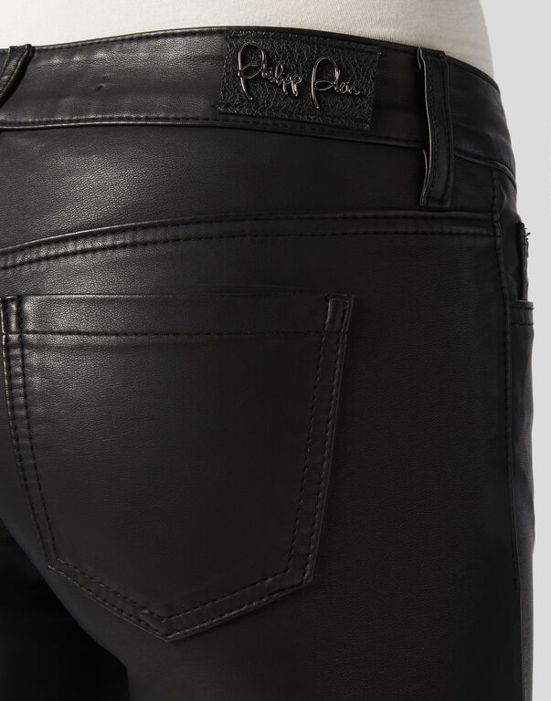 Leather Slim Trousers Original