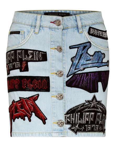 Denim Skirt Rock PP
