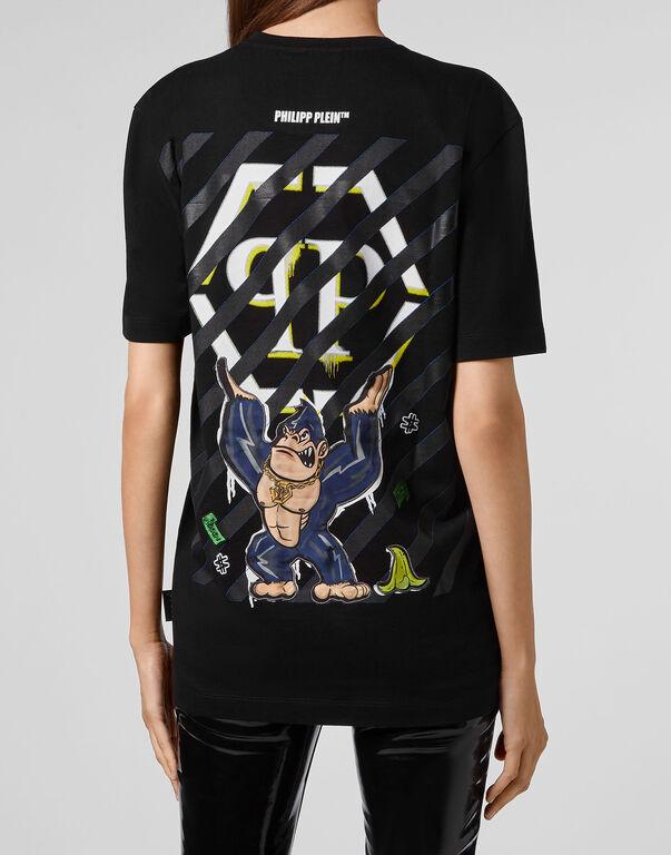 T-shirt Round Neck SS King Plein