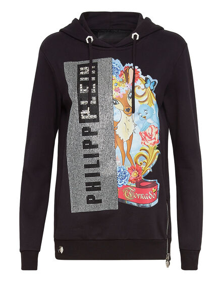Hoodie sweatshirt Platinum