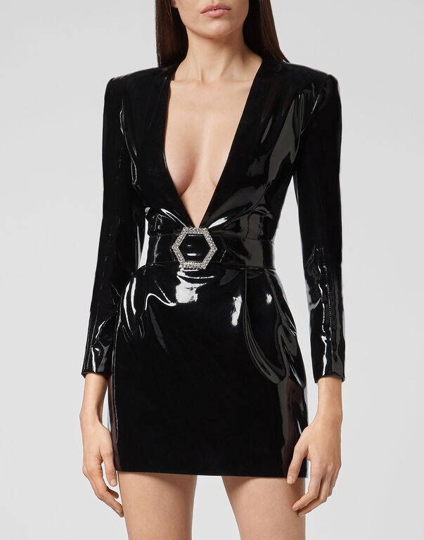 Short Dress Killer Latex