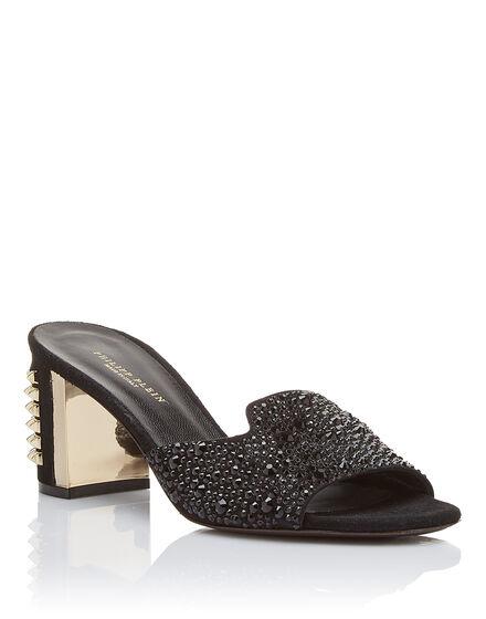 Sandals Mid Heels Marine
