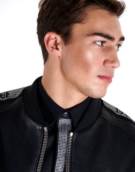 Shirt Crystal cut LS Gothic