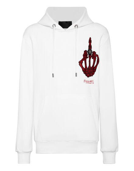 Hoodie sweatshirt stones Skeleton