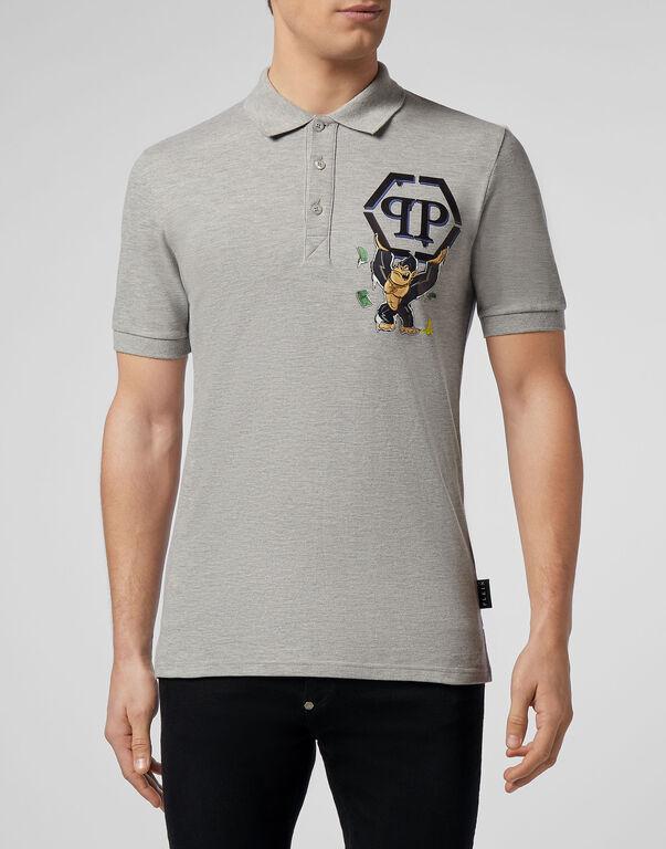 Polo shirt SS King Plein
