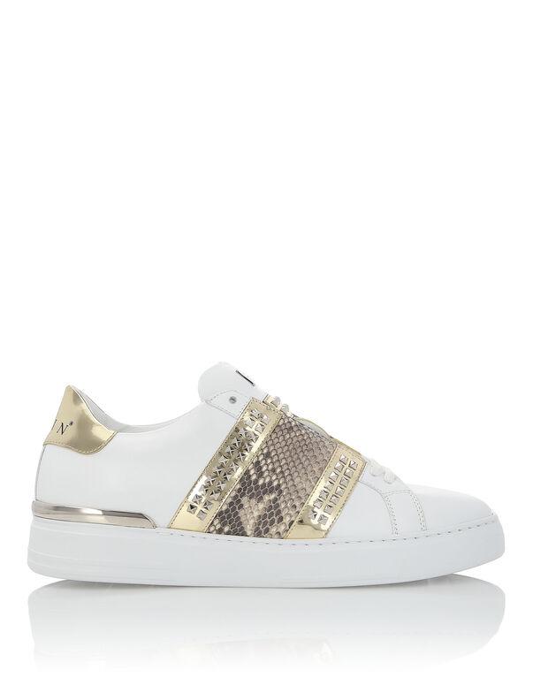 "Lo-Top Sneakers ""Big Stripe"""