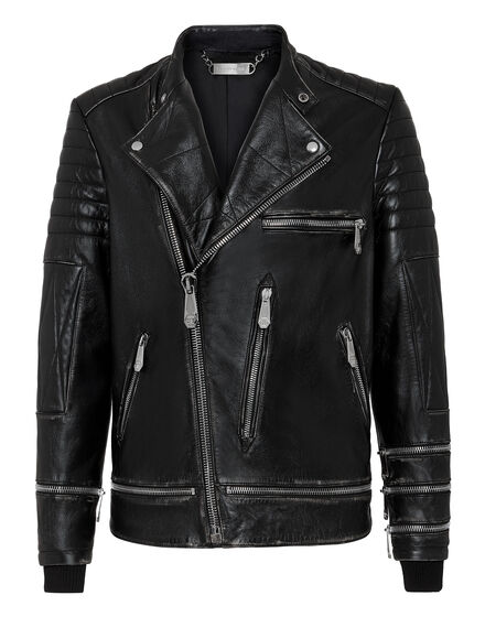 Leather Biker Iconic Plein