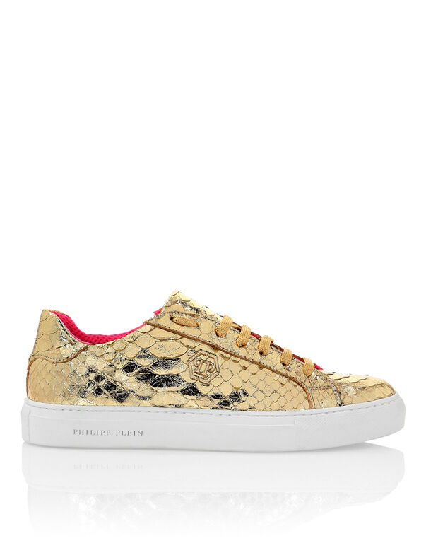 Python Lo-Top Sneakers Gold
