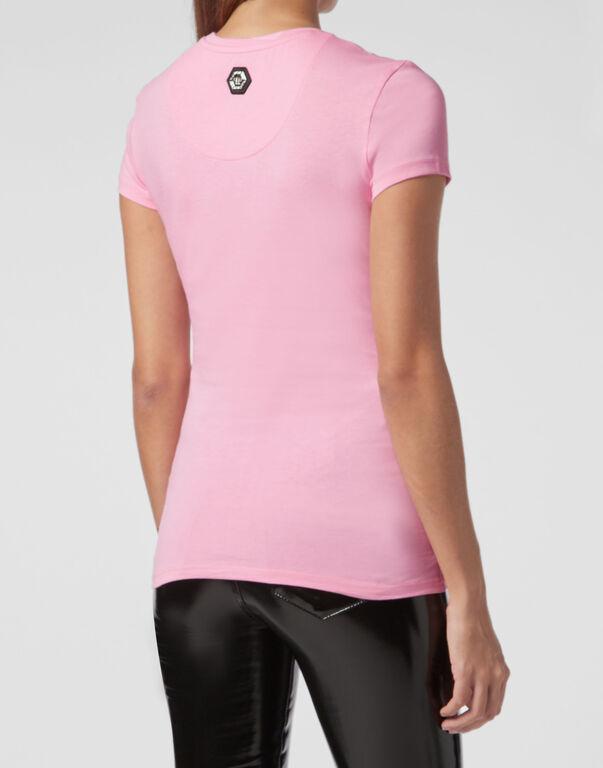 T-shirt Round Neck SS Pink paradise