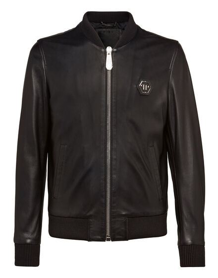 Leather Bomber Basic