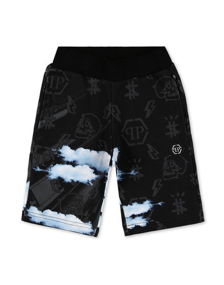 Jogging Shorts Clouds