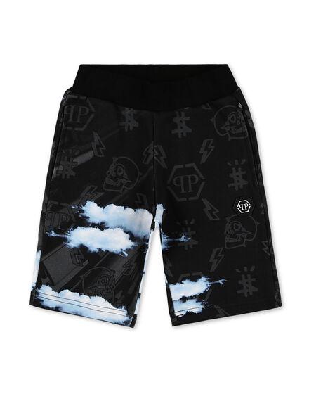 Jogging Shorts Clouds