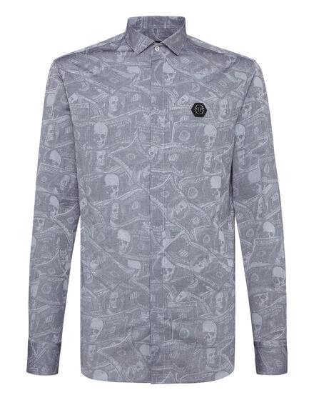 Shirt Platinum Cut LS Dollar