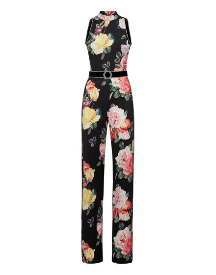 Jumpsuit Selene Crystal  Flowers