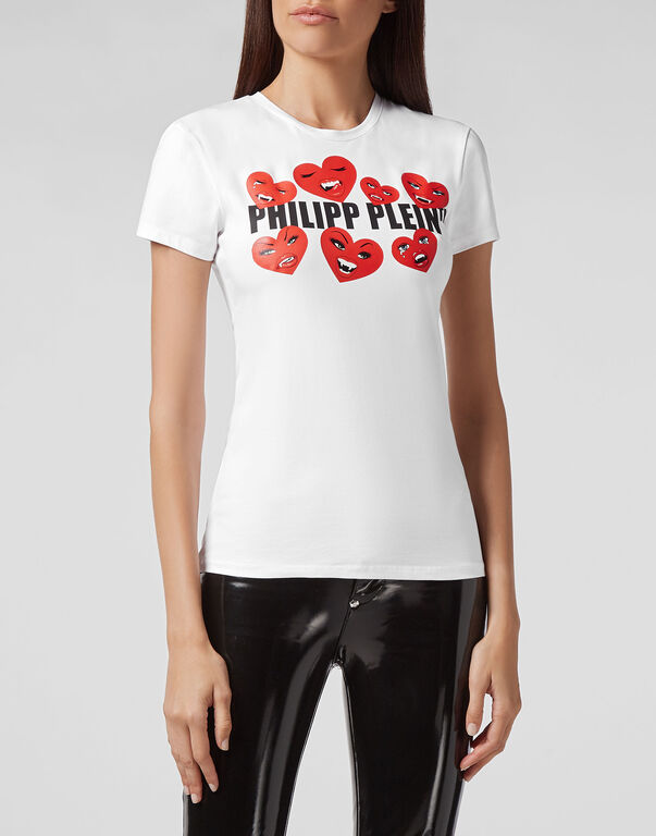T-shirt Round Neck SS Love Plein