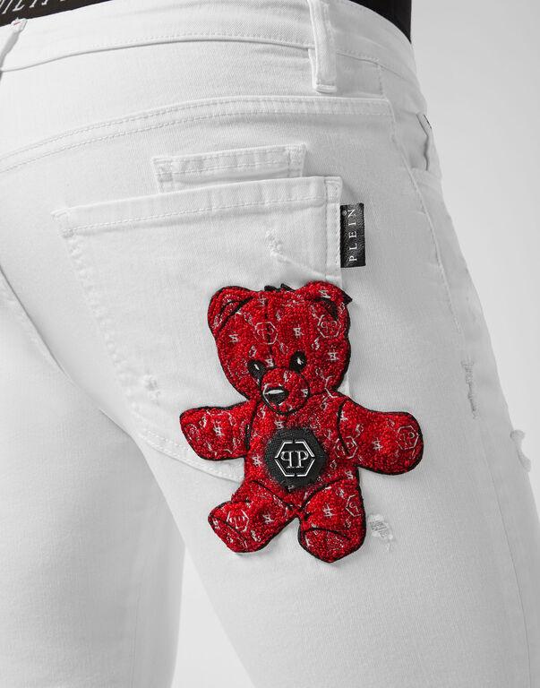 Super Straight Cut Teddy Bear