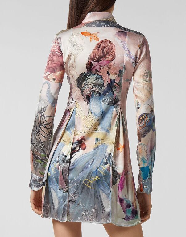 Shirt dress Underwater