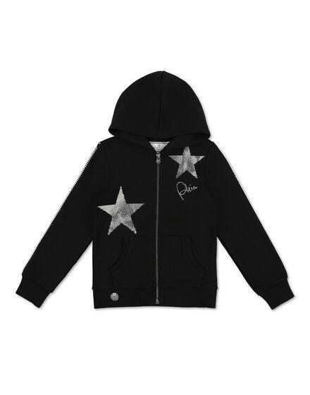 Hoodie Sweatjacket Stars