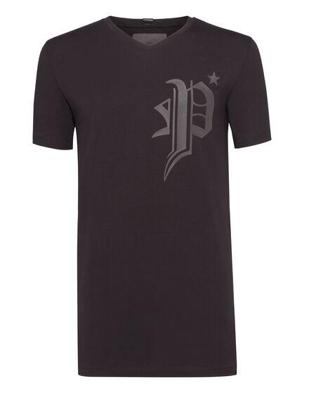 T-shirt V-Neck SS Gods