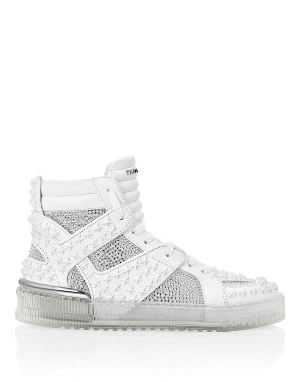 Hi-Top Sneakers Stars