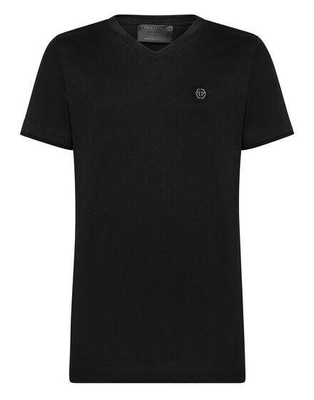 T-shirt Platinum Cut V-Neck Statement