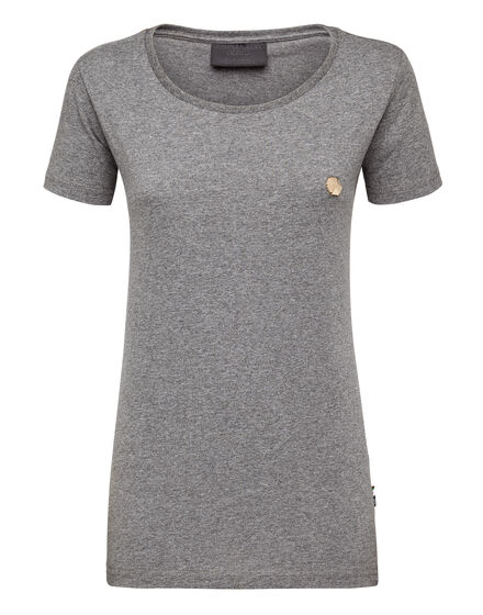 T-Shirt Royal Cut Round Neck Basic Plein