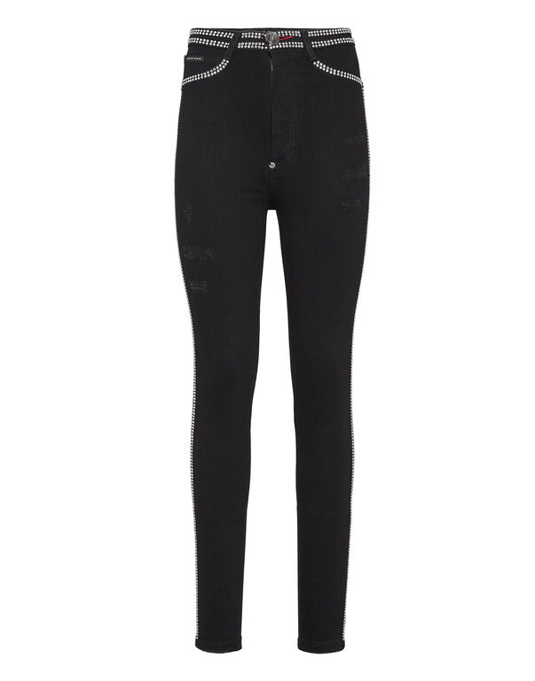 Super High Waist Jegging Crystal